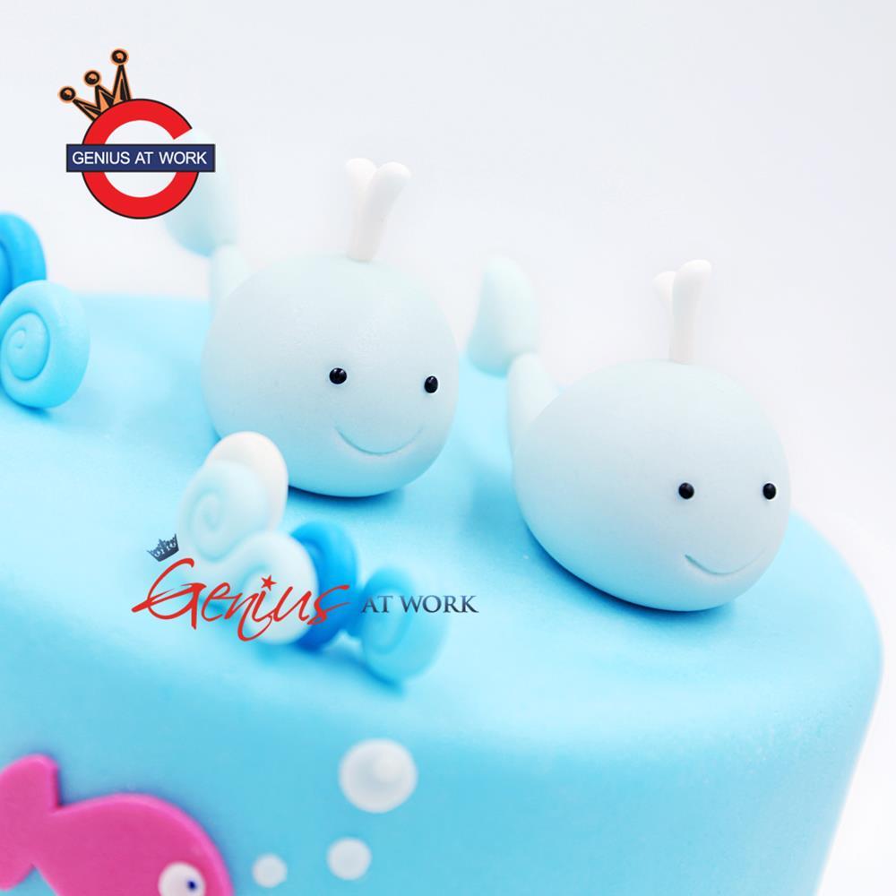 双鱼座(男款)蛋糕网上订购